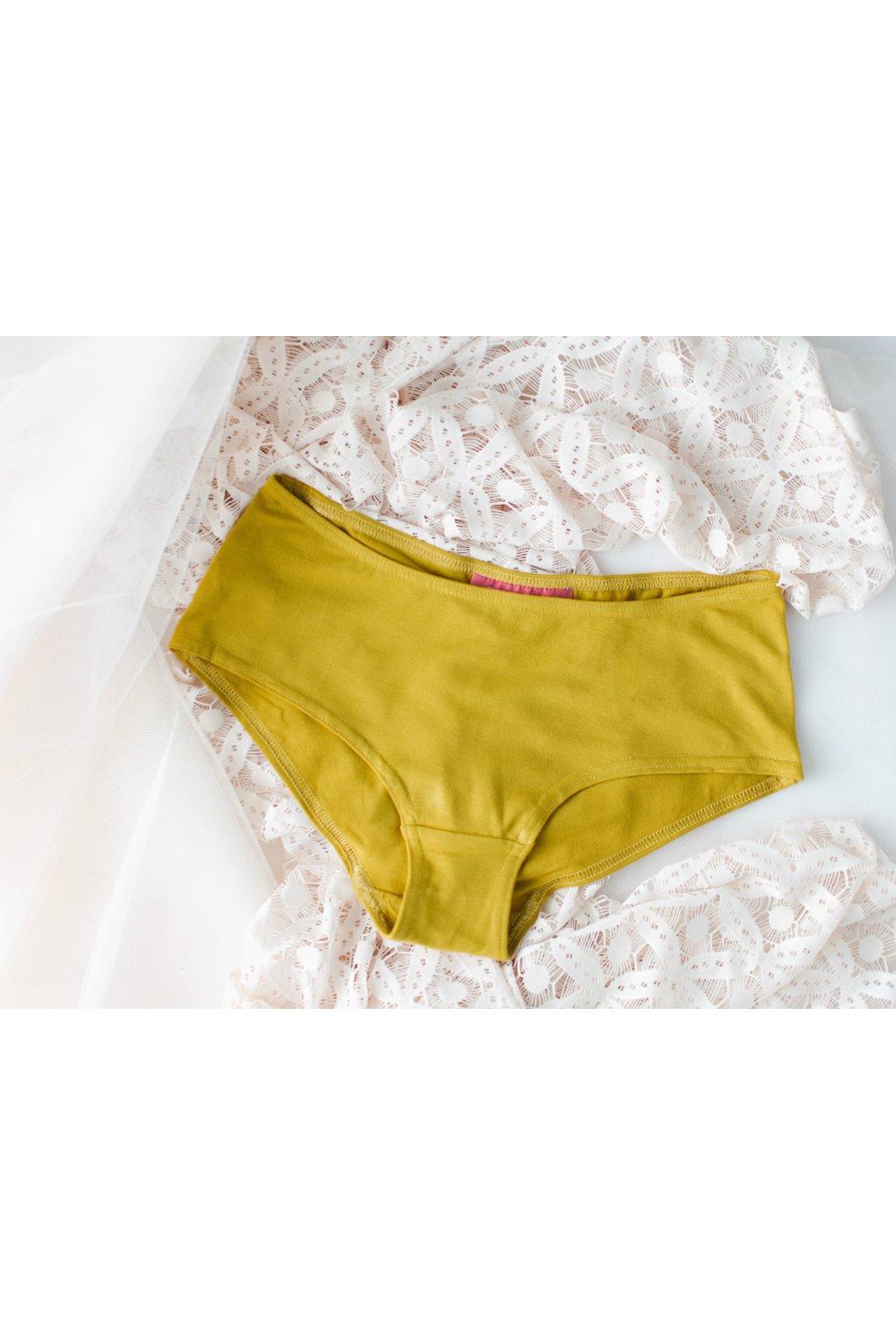 Reparada kalhotky, hořčice