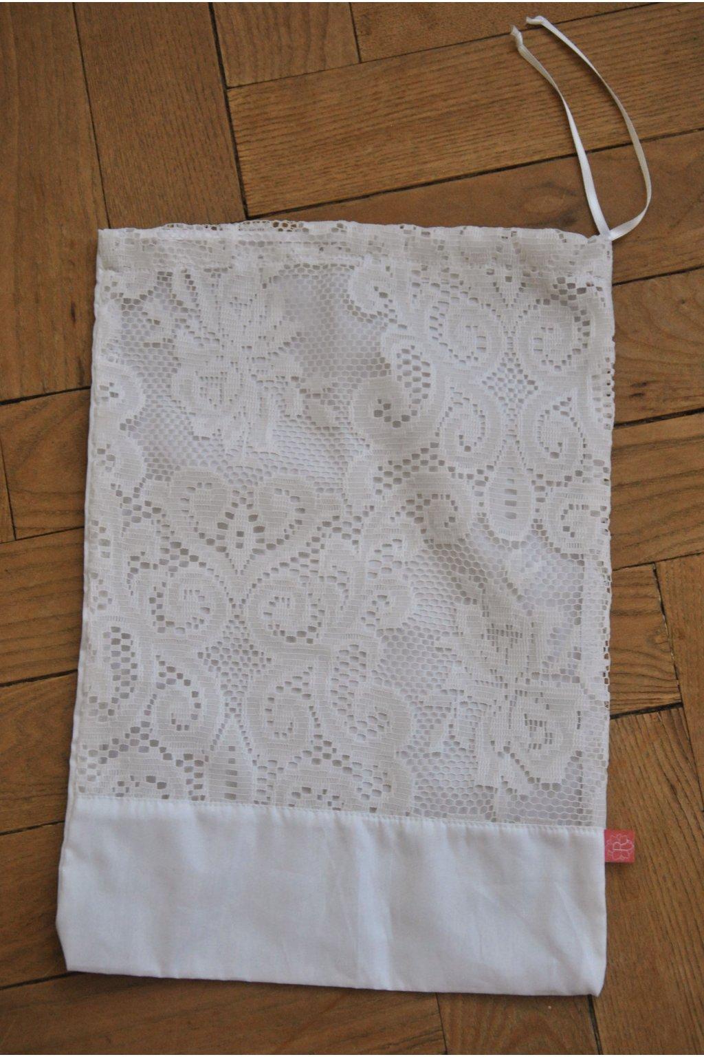 Zero waste záclonový sáček kombinovaný (27x37 cm)