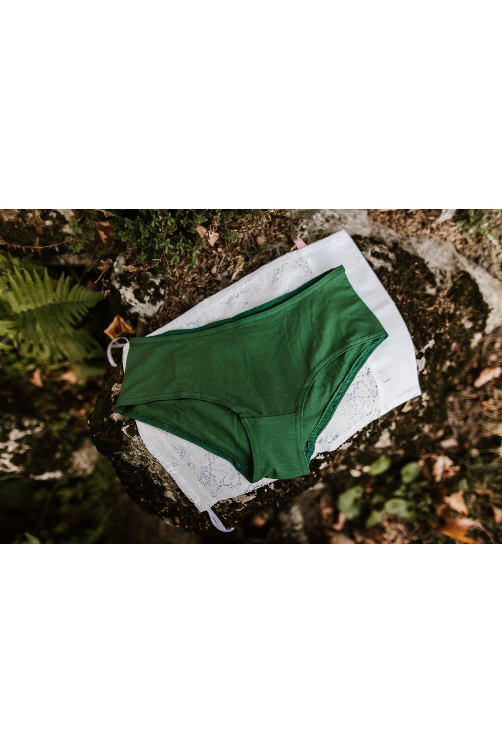 bambusove kalhotky reparada zelene
