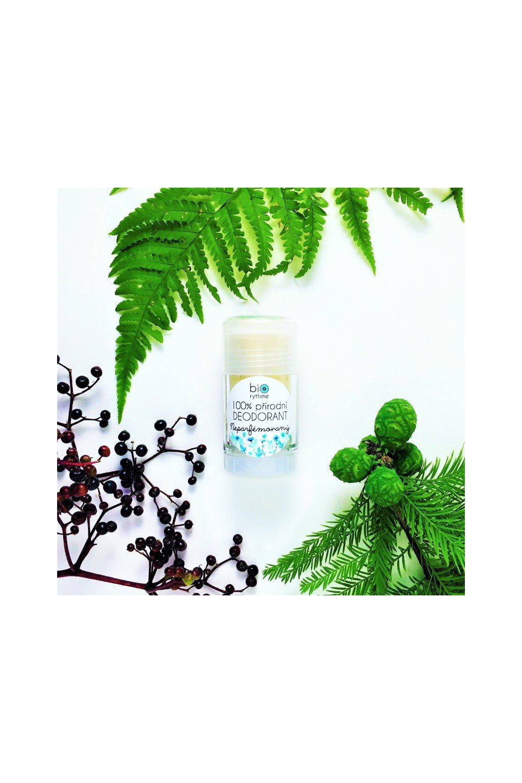 Biorythme: 100% přírodní deodorant Neparfémovaný (velký)