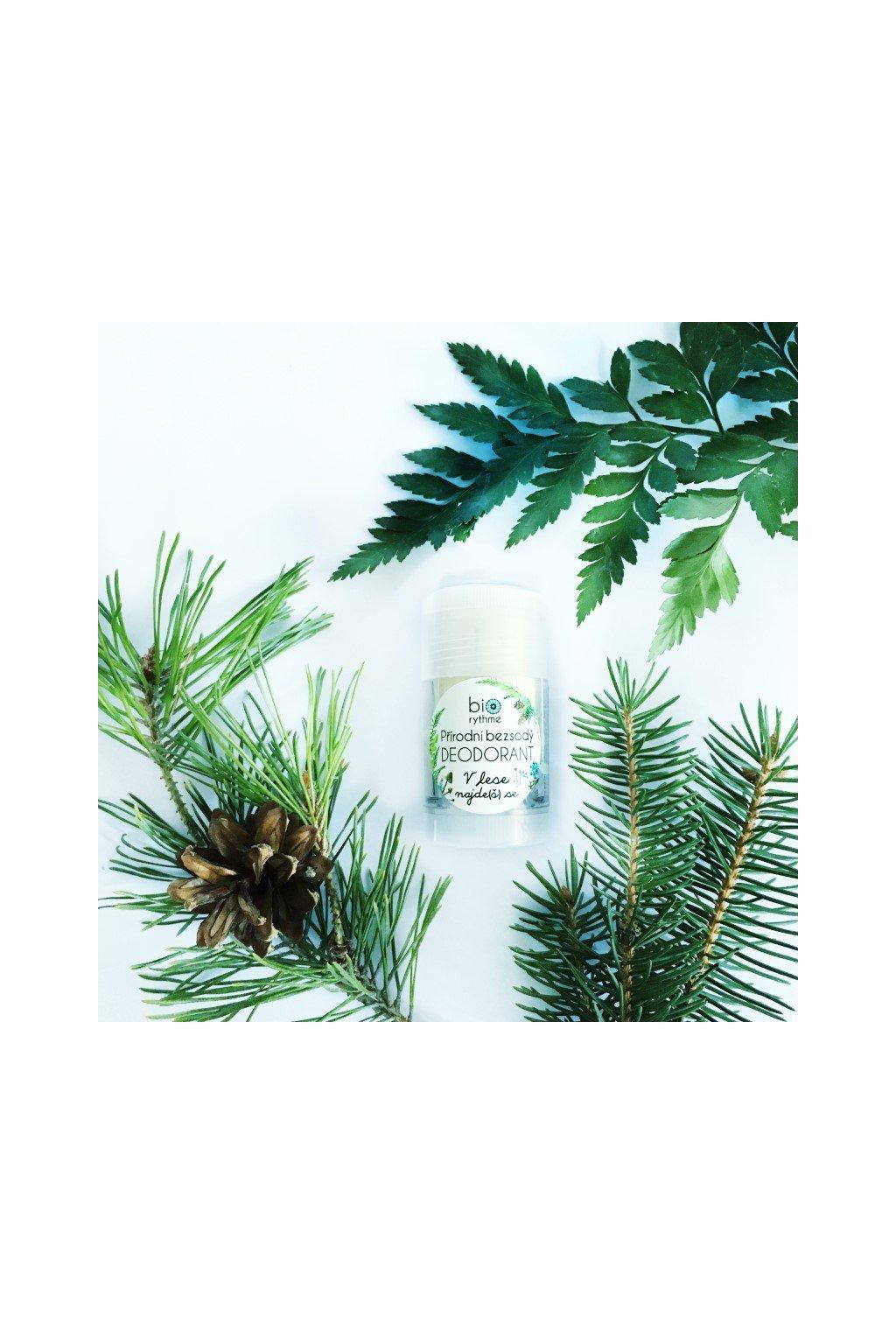 Biorythme: bezsodý deodorant V lese najde(š) se