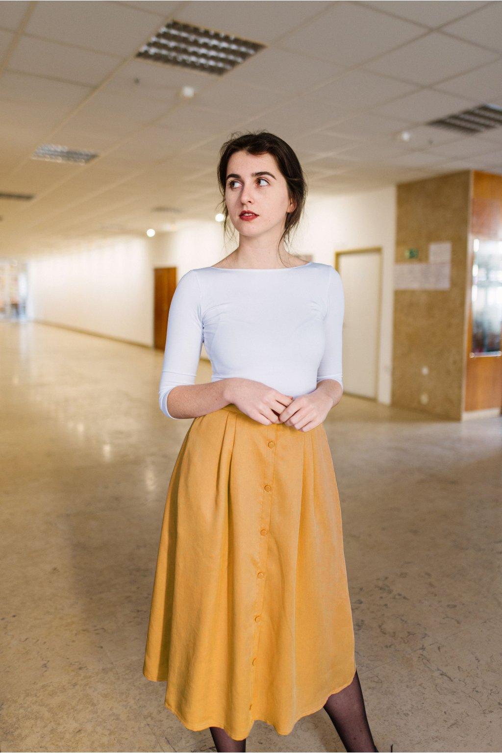 sukne midi Azora horcicova 02