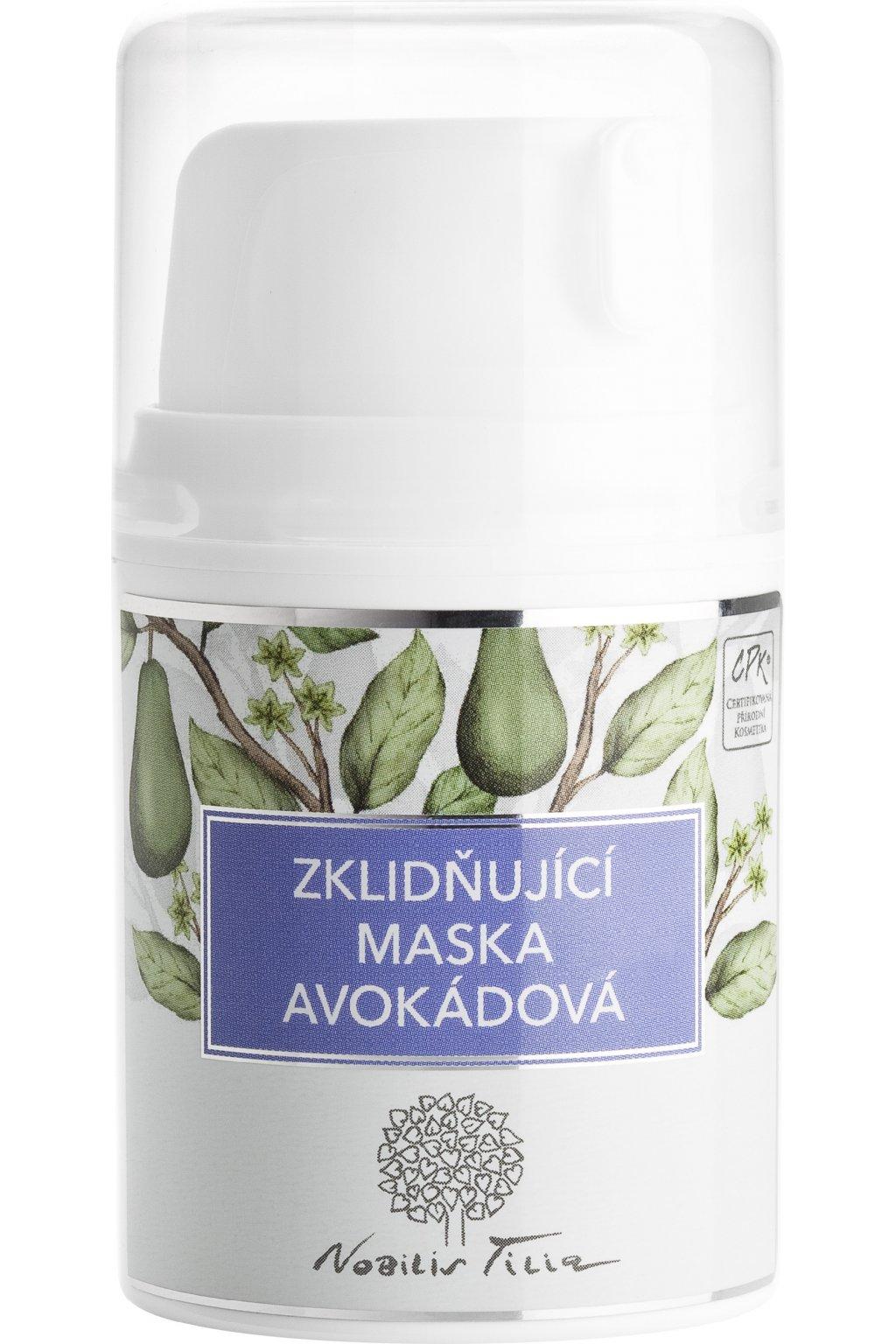 N0620E Zklidňující maska avokádová 50 ml