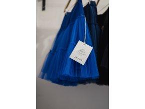 Modrá tylová spodnička