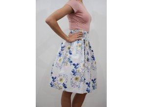 Zavinovací sukně Grey Fuison  Skl.