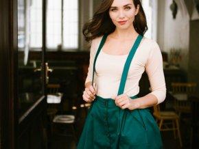 zelena propinaci sukne reparada