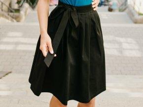 Reparada zavinovaci sukne cerna