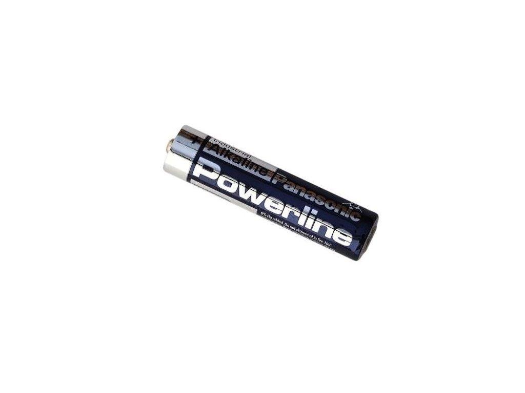 Baterie Panasonic Powerline Industrial Alkaline, LR03, AAA, (bulk)