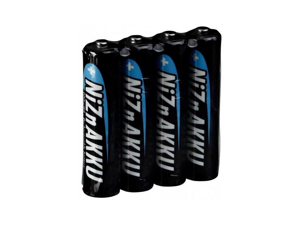 Baterie Ansmann AAA 1,6V/900mWh, Ni-Zn, nabíjecí SH4, (Blistr 4ks)