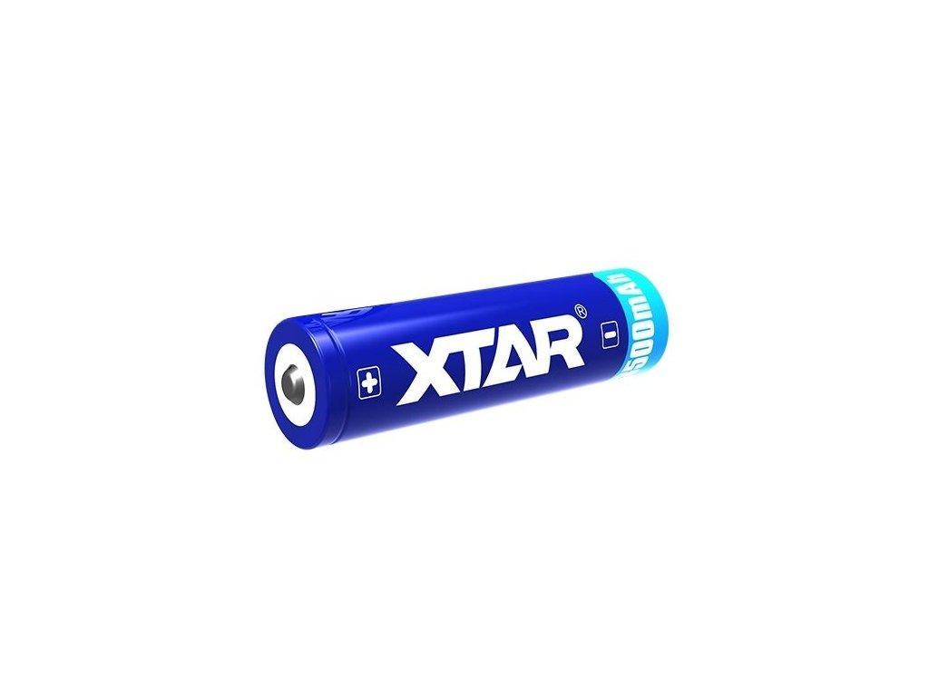 Akumulátor Xtar 3500mAh 18650, Li-ion, 3,7V, (včetně ochranného obvodu)