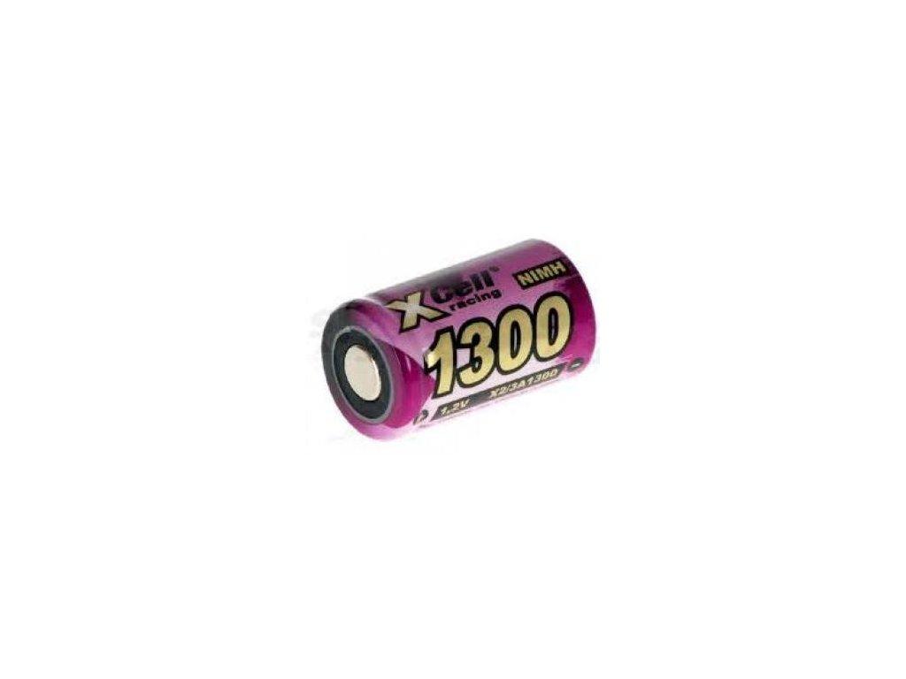 Akumulátor Xcell 1300 2/3AF, Ni-Mh, 2/3A, 1,2V - 1300mAh