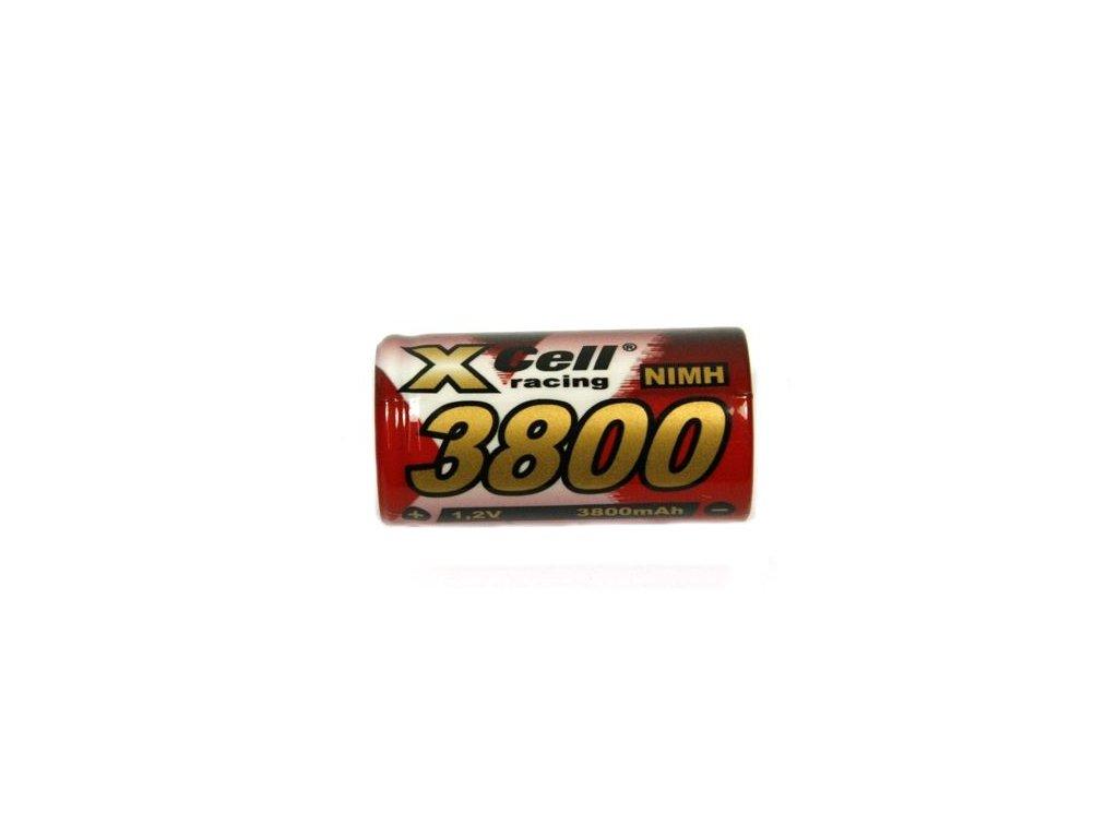Akumulátor Xcell 3800SC, Ni-Mh, SC, 1,2V - 3800mAh