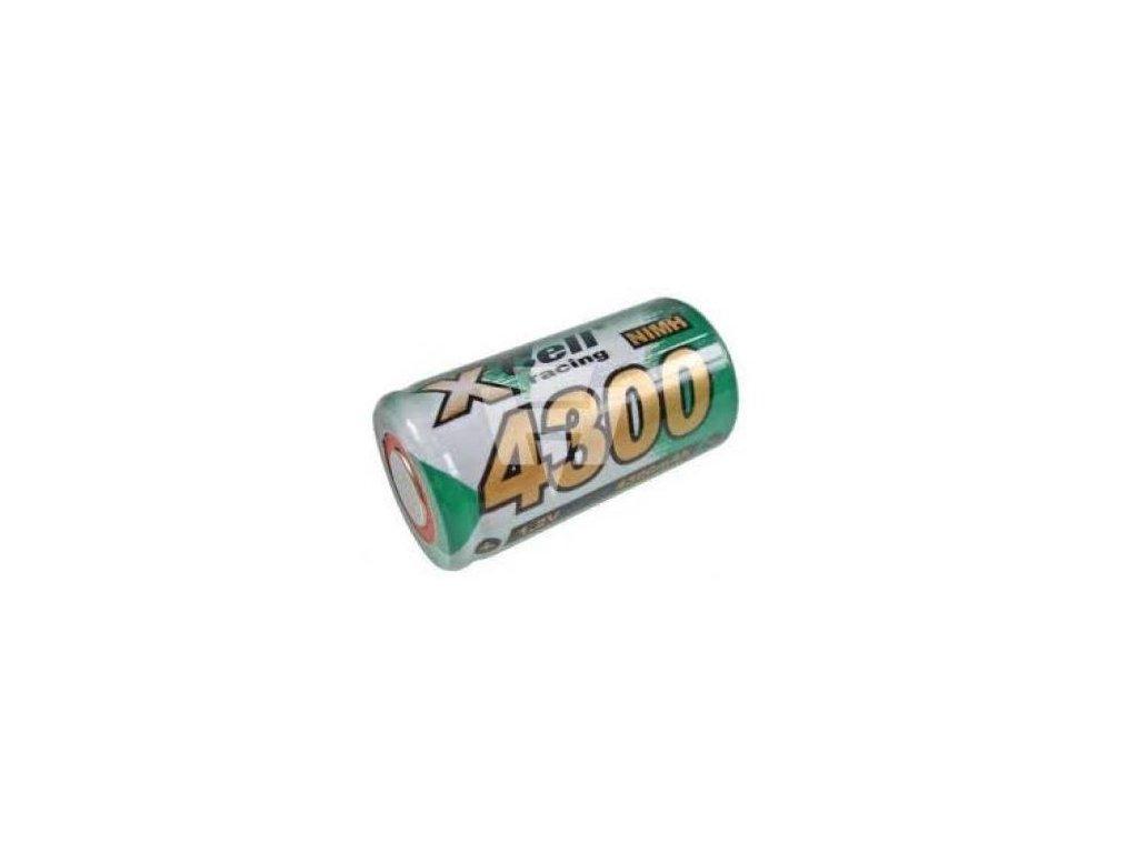 Akumulátor Xcell 4300SC, Ni-Mh, SC, 1,2V - 4300mAh