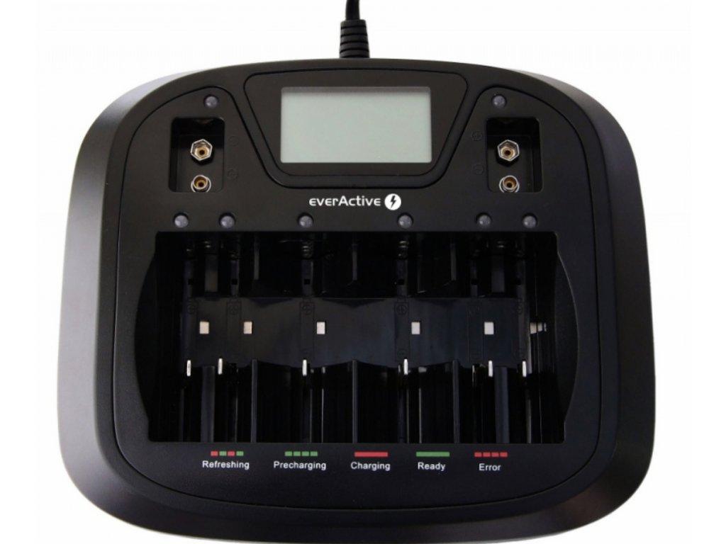 EverActive NC-900U nabíječka pro AA/AAA/C/D/9V baterií, Ni-CD, Ni-Mh