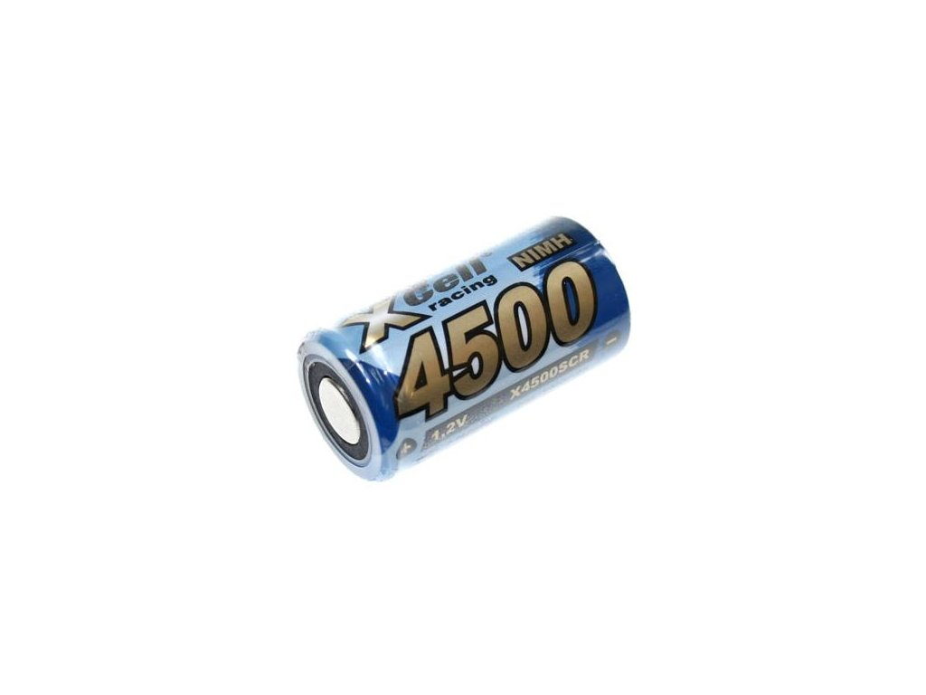 Akumulátor Xcell 4500SC, Ni-Mh, SC, 1,2V - 4500mAh