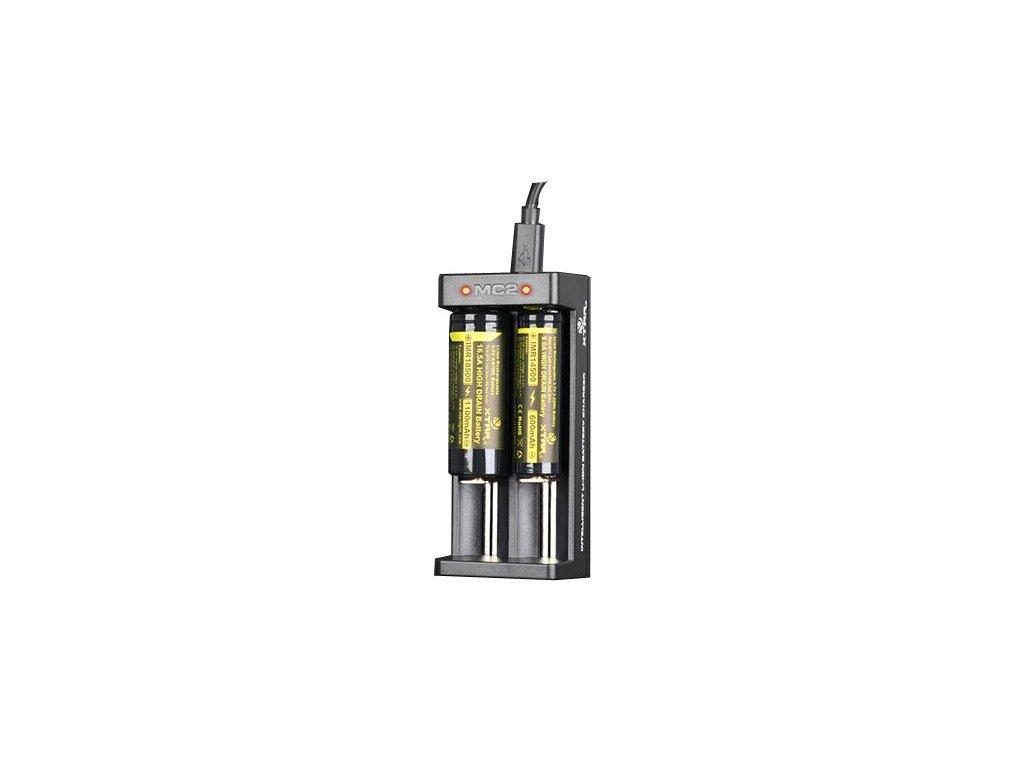 Nabíječka pro Li-Ion 18650 Xtar MC2