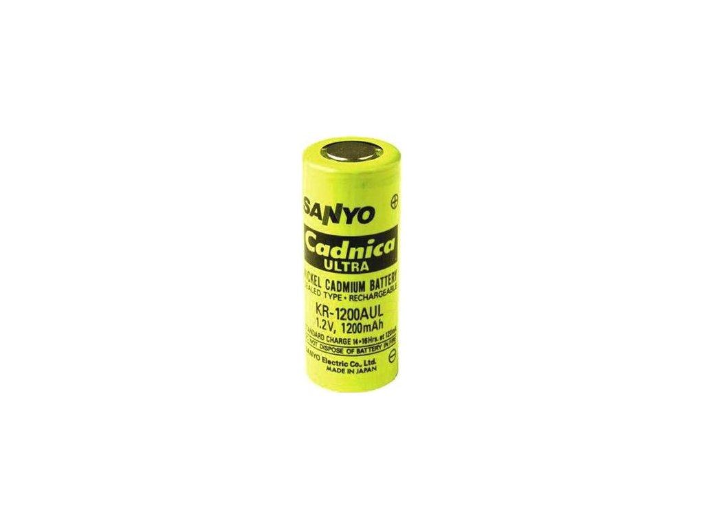 Akumulátor Sanyo KR-1200AUL, Ni-Cd, 4/5A, 1,2V - 1200mAh