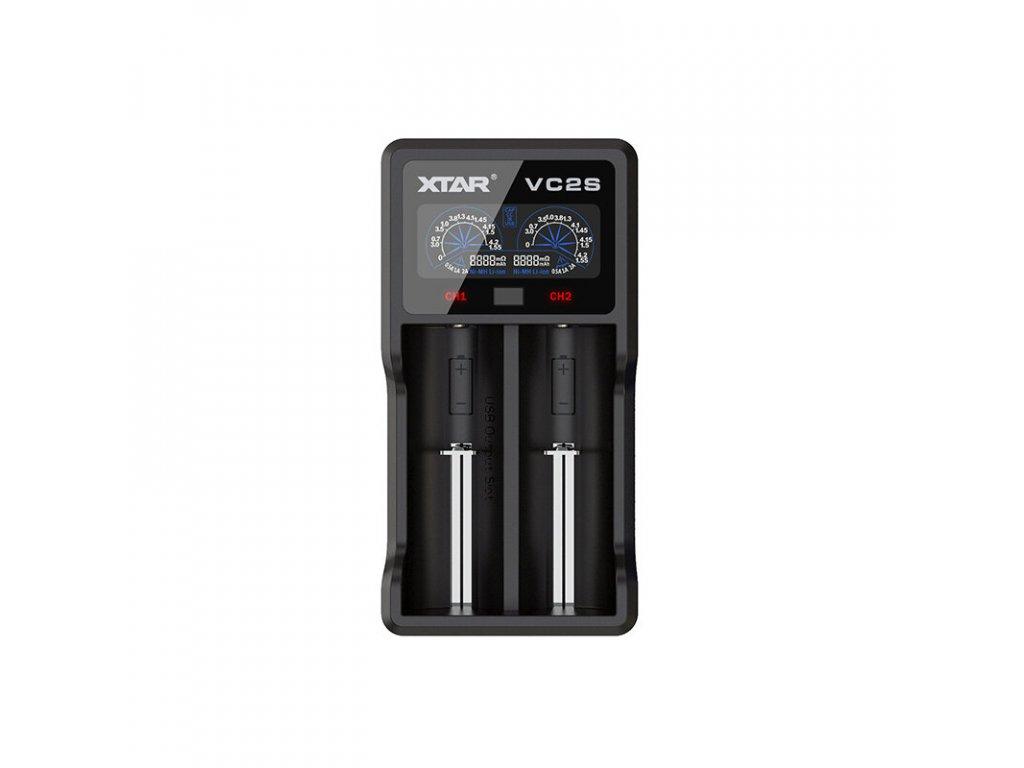 ladowarka do akumulatorow cylindrycznych Li ion Ni MH Ni CD 18650 Xtar VC2S