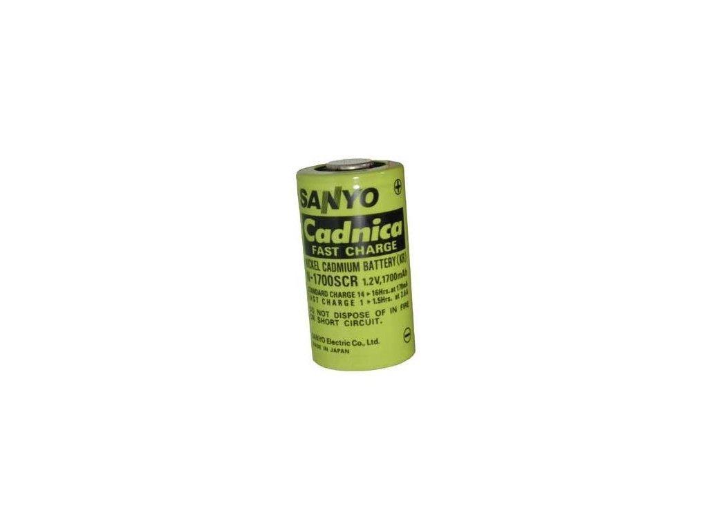 Akumulátor Sanyo N-1700SCR (Folie), Ni-Cd, SC, 1,2V - 1700mAh