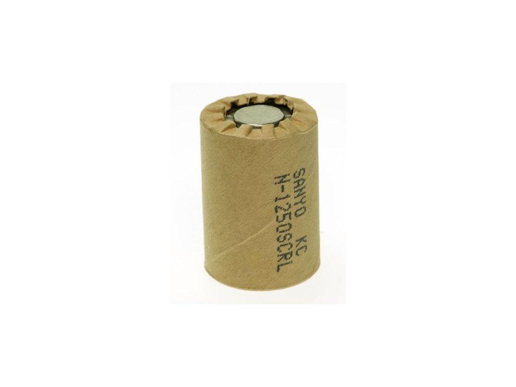 Akumulátor Sanyo N-1250SCRL (PP), Ni-Cd, 4/5SC, 1,2V - 1250mAh