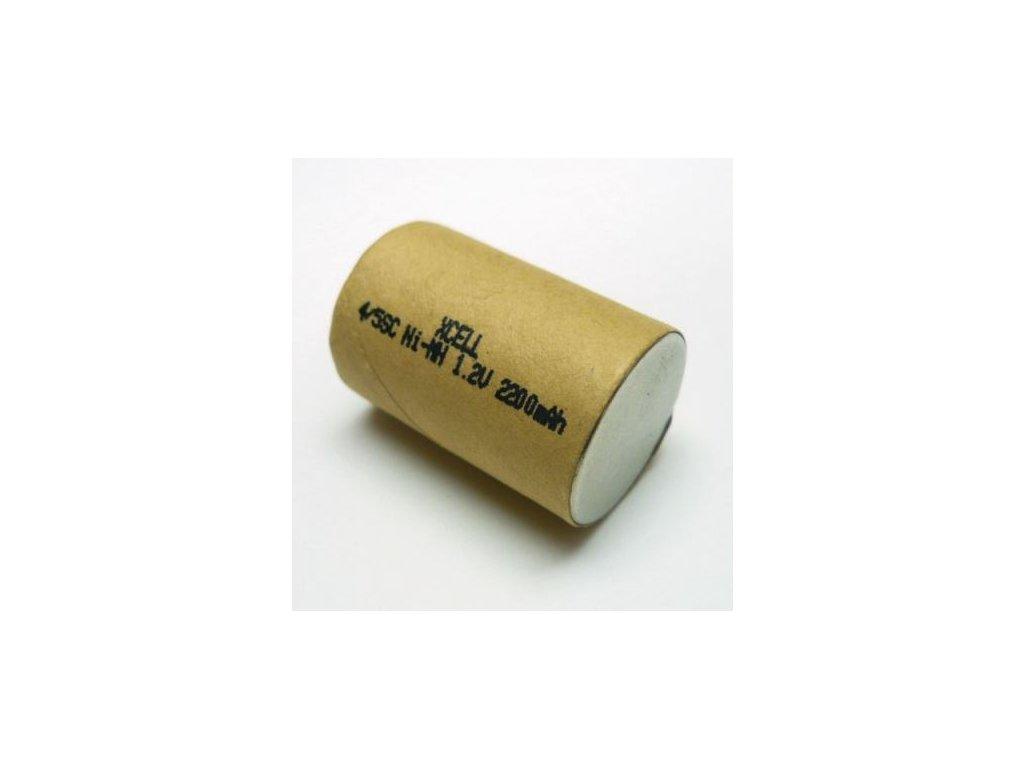 Akumulátor Xcell (4/5SC), Ni-Mh, 4/5SC, 1,2V - 2200mAh