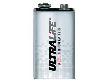 Baterie ULTRALIFE U9VL-J-P, 9V, 1200mAh (Lithium-Thionychlorid)