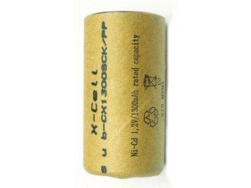 Akumulátor Xcell 1300SCK (PP), Ni-Cd, 1,2V - 1300mAh