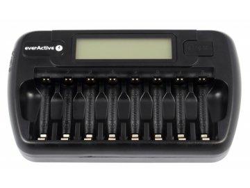 EverActive NC-800 nabíječka pro 8ks AA/AAA baterií, Ni-CD, Ni-Mh