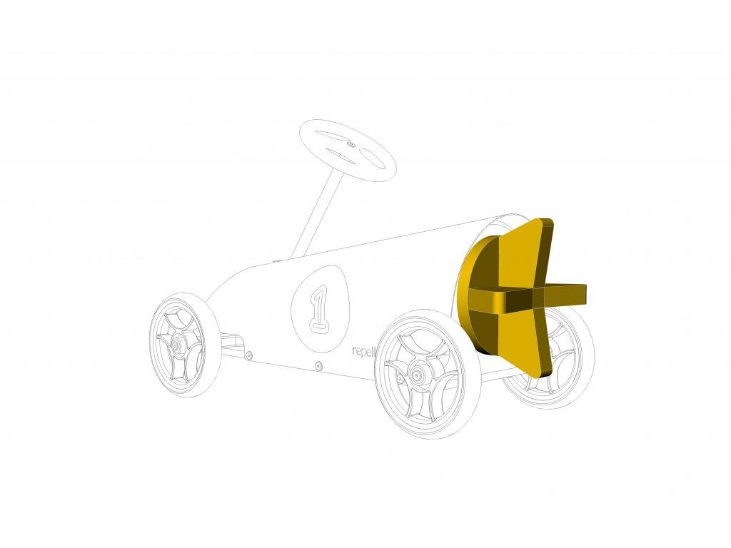 Formule zadní spojler