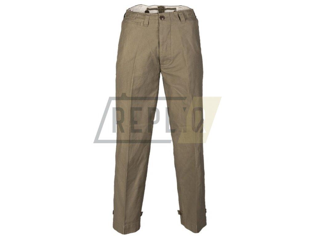 Kalhoty US polní M43 ZELENÉ repro