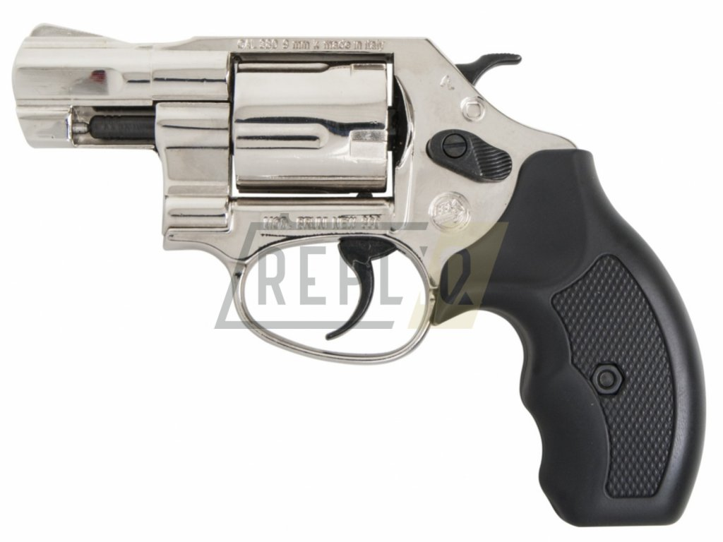 """Plynový revolver Bruni NEW 380 Python 2"""" chrom cal.9mm"""