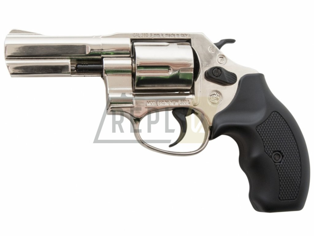 """Plynový revolver Bruni NEW 380 Python 3"""" chrom cal.9mm"""