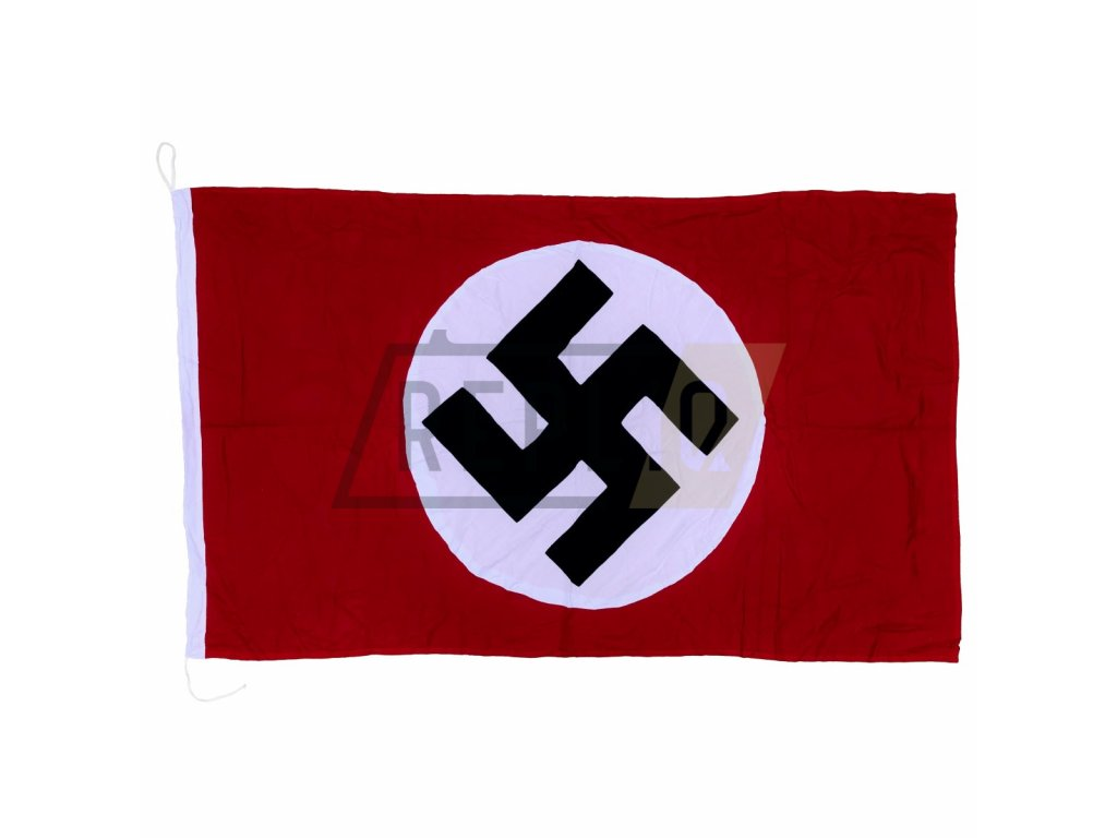 flag nsdap in cotton hand stitched