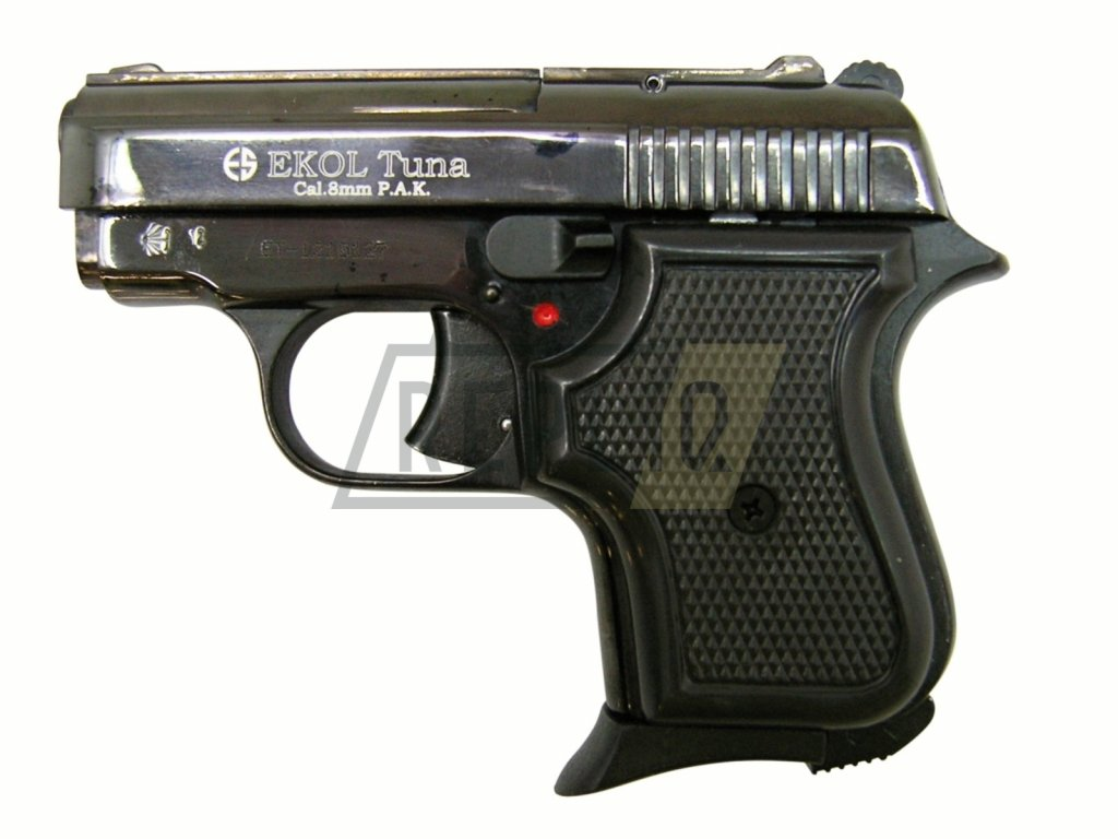 Plynová pistole Ekol Tuna černá cal.8mm
