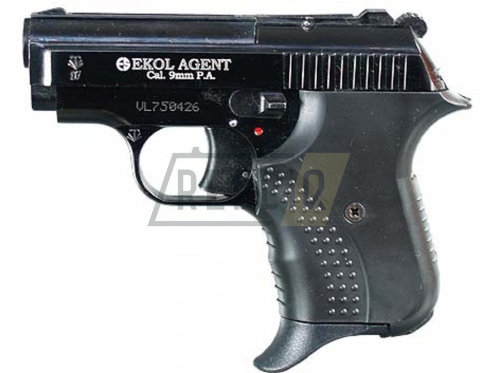 Plynová pistole Ekol Agent Volga černá cal.9mm