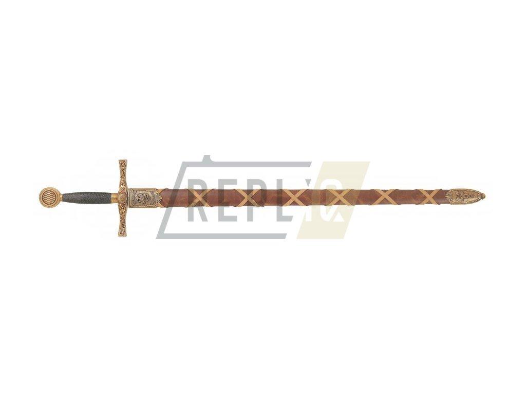 Meč Excalibur s pochvou