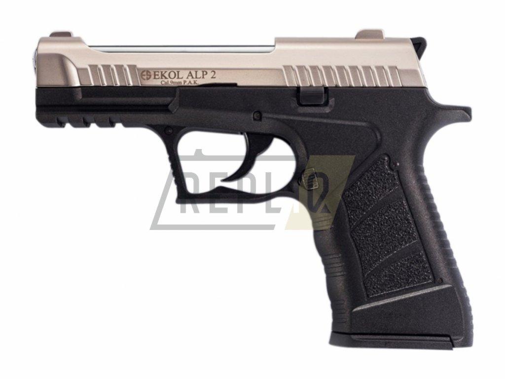 Plynová pistole Ekol Alp 2 satén cal.9mm