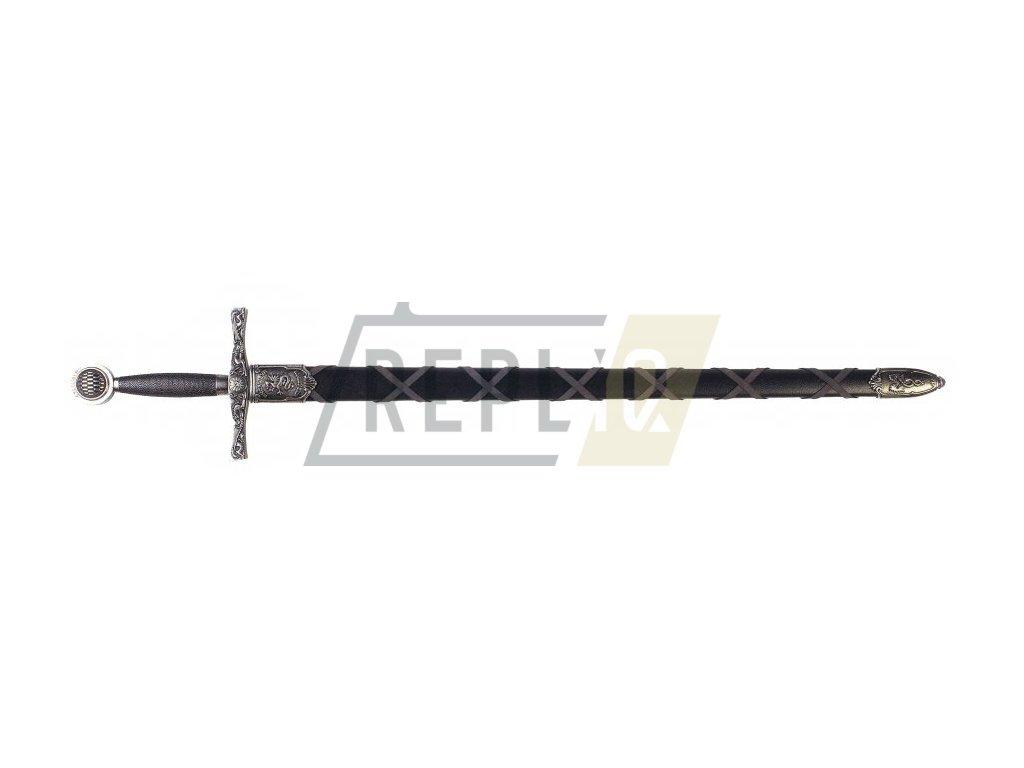 Meč Excalibur legendární meč krále Artuše (nikl)