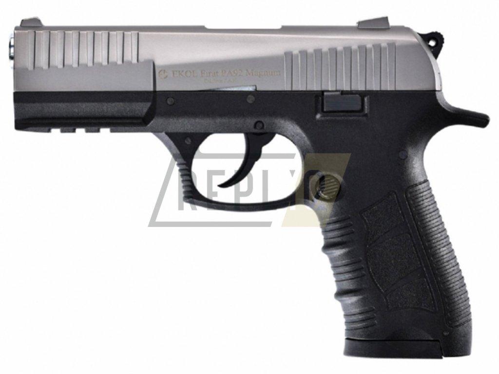 Plynová pistole Ekol Firat Magnum PA92 titan cal.9mm