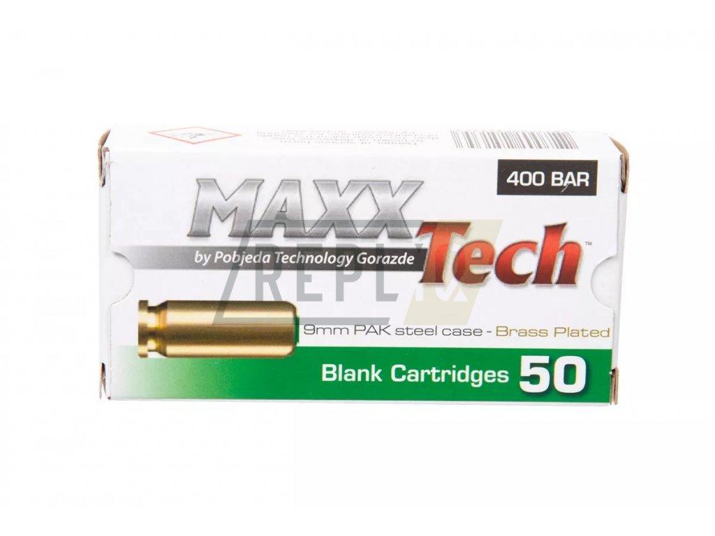 Startovací náboje Pobjeda 9mm pistole 50ks