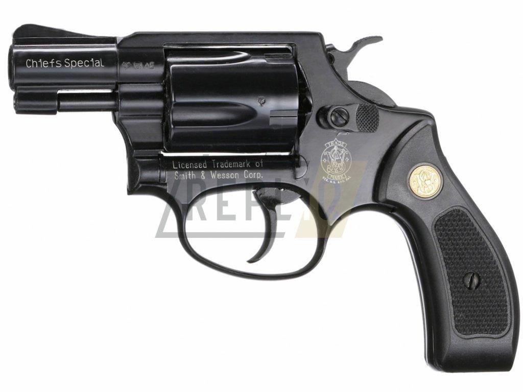 Plynový revolver Umarex Smith Wesson Chiefs Special Combat černý plast cal.9mm