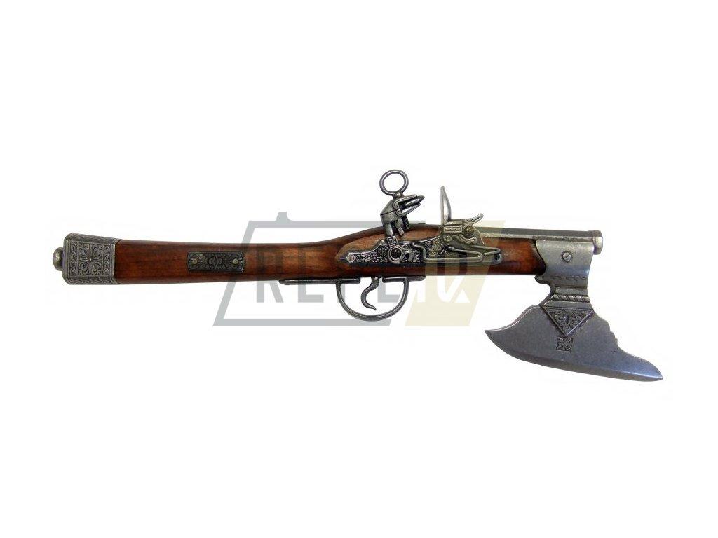 Pistole se sekerou - Německo 17. století