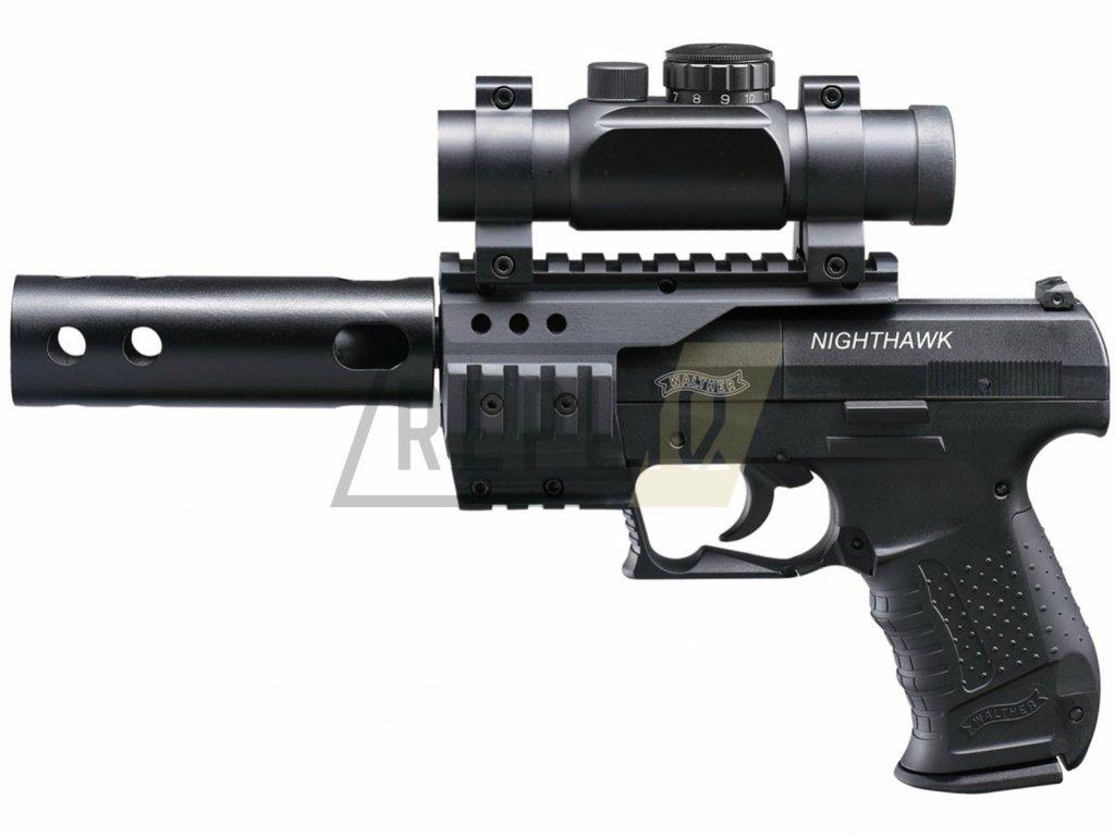 Vzduchová pistole Walther Night Hawk