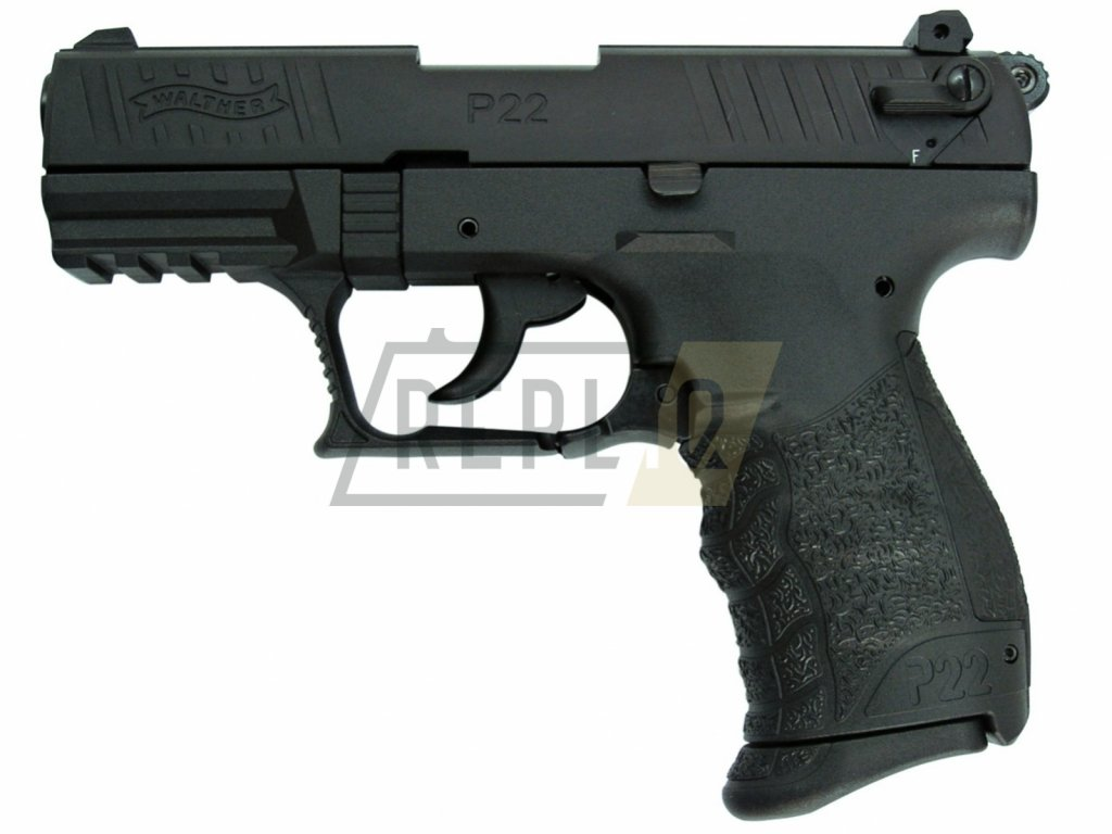 Plynová pistole Umarex Walther P22Q černá cal.9mm