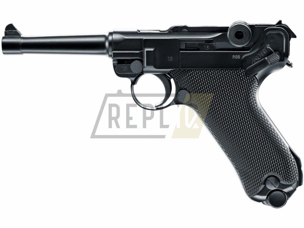 Vzduchová pistole Umarex Legends P08 BlowBack 4,5mm