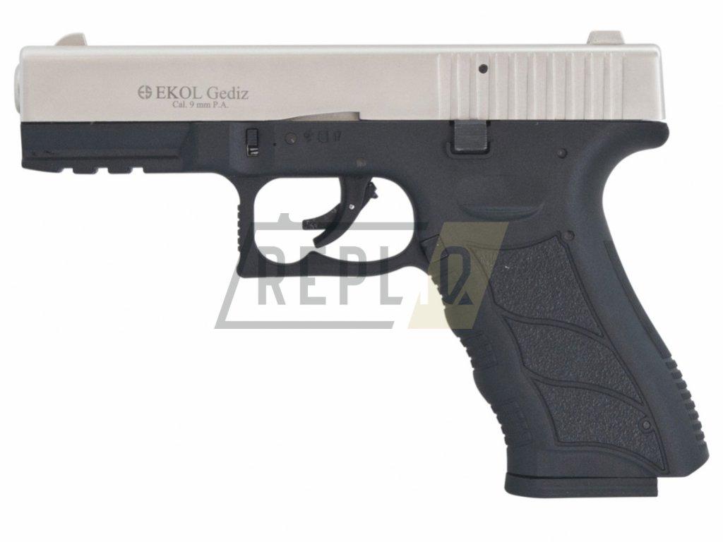 Plynová pistole Ekol Gediz satén cal.9mm