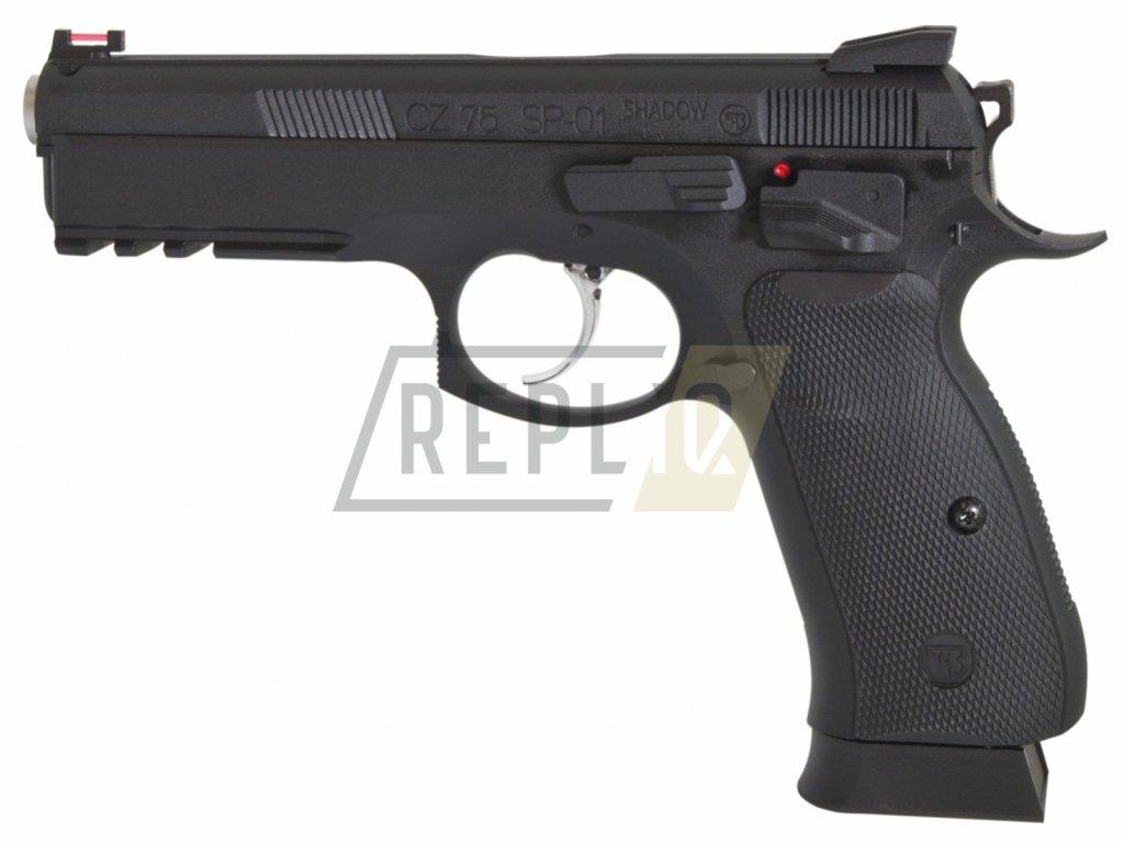 Vzduchová pistole ASG CZ-75 SP-01 Shadow Blow Back 4,5mm