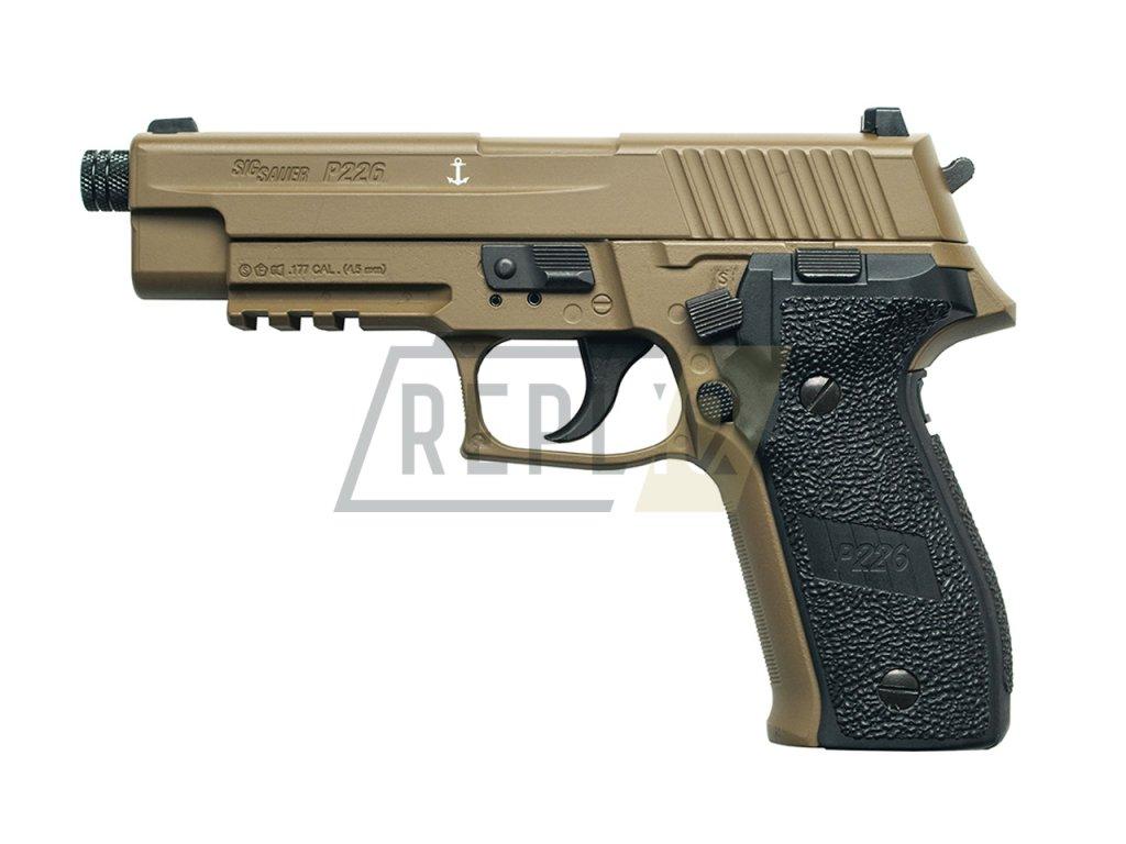 Vzduchová pistole Sig Sauer P226 FDE Sand 4,5mm