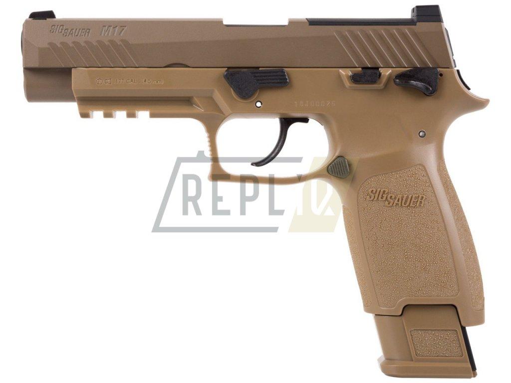 Vzduchová pistole Sig Sauer M17 Coyote 4,5mm