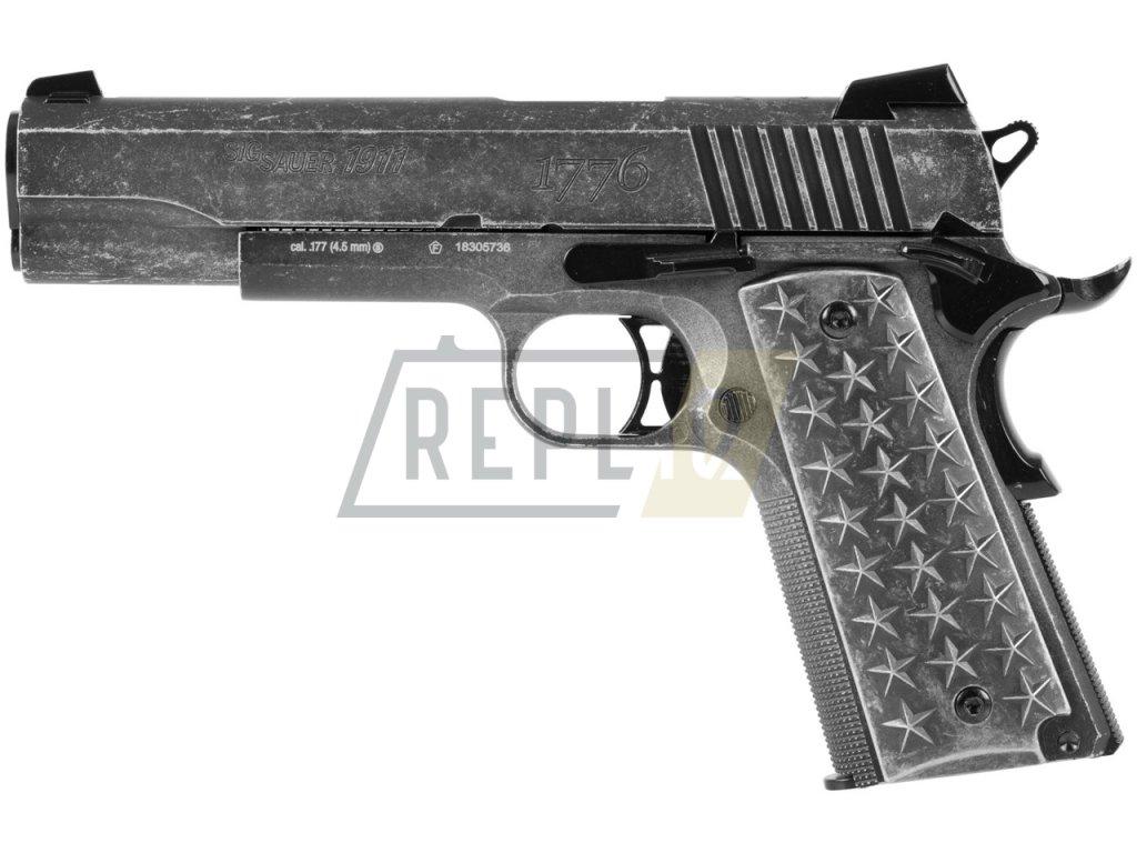 Vzduchová pistole Sig Sauer 1911 We The People  + Voucher na další nákup